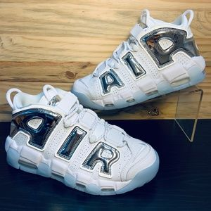 New Nike Air More Uptempo Chrome Tint Basketball